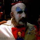 """Sid Haig Captain Spaulding  8 x 10"""" Autographed / Signed Glossy Photo Print - (Reprint:1639)"""