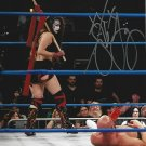"Bloody Undead Bride Su Yung Impact Wrestling 8 x 10"" Autographed Photo (Reprint 1645)"