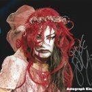 """Bloody Undead Bride Su Yung Impact Wrestling 8 x 10"""" Autographed Photo (Reprint 1646)"""
