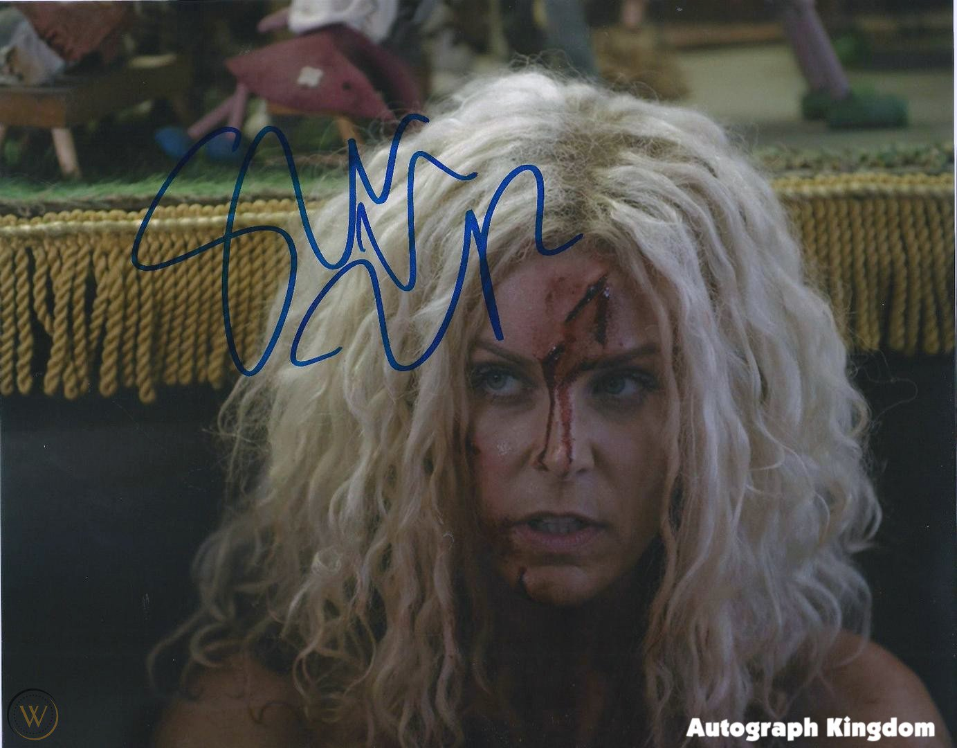 Sheri Moon Zombie The Devils Rejects 8 X 10 Autographed Photo (Reprint: 1649)