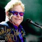 "Elton John 8 x 10"" Autographed Photo (Reprint:1652) ideal for Birthdays & X-mas"