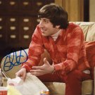 "Simon Helberg 8 x 10"" Autographed Photo he Big Bag Theory - (Reprint :1661)"