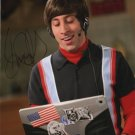 "Simon Helberg 8 x 10"" Autographed Photo he Big Bag Theory - (Reprint :1663)"