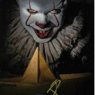 """Bill Skarsgård Pennywise The Dancing Clown 8 x 10"""" Autographed Photo -(Reprint:1669)"""