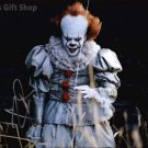 """Bill Skarsgård Pennywise The Dancing Clown 8 x 10"""" Autographed Photo -(Reprint:1670)"""