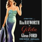 Gilda 1946 Vintage Movie Poster | Wall Deco | Bedroom Poster