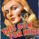 This Gun For Hire (Movie) 1942 Vintage Movie Poster | Wall Deco | Bedroom Poster