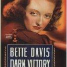 Dark Victory (Movie) 1939 Vintage Movie Poster | Wall Deco | Bedroom Poster