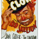 The Clown 1954 Vintage Movie Poster | Wall Deco | Bedroom Poster | Rare Movie Posters