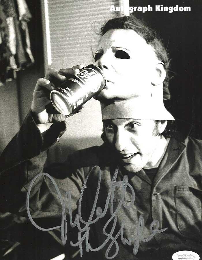 "Nick Castle Michael Myers Halloween 8 x 10"" Autographed Photo -(Reprint:1777)"