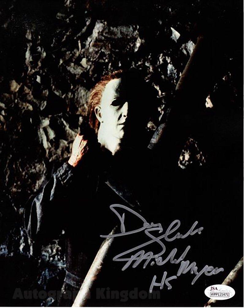"Don Shanks Michael Myers Halloween 8 x 10"" Autographed Photo -(Reprint:1780)"