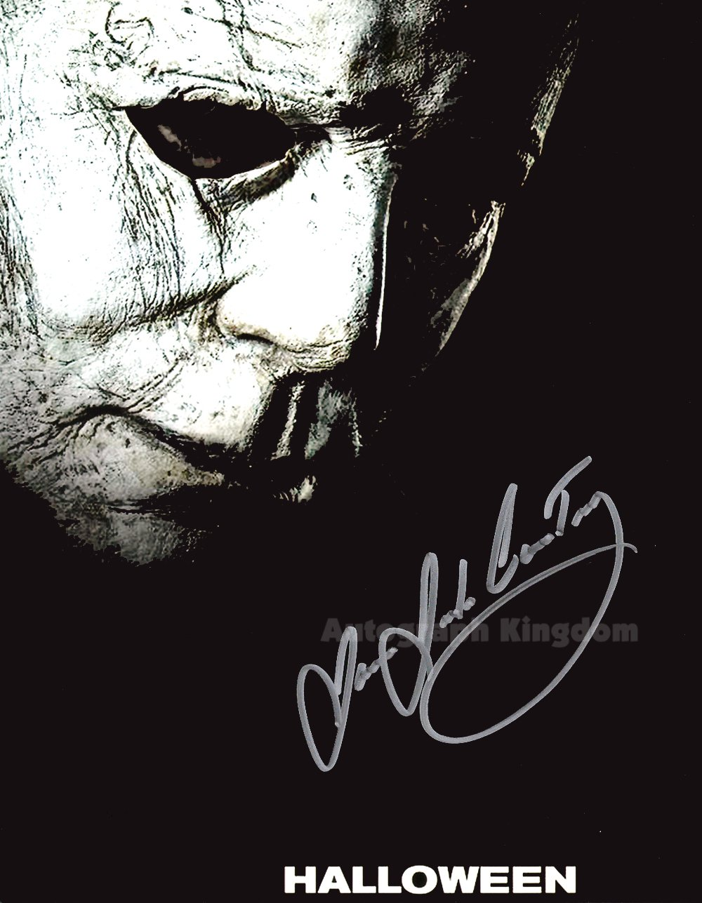 "James Jude Courtney Michael Myers Halloween 8 x 10"" Autographed Photo -(Reprint:1781)"