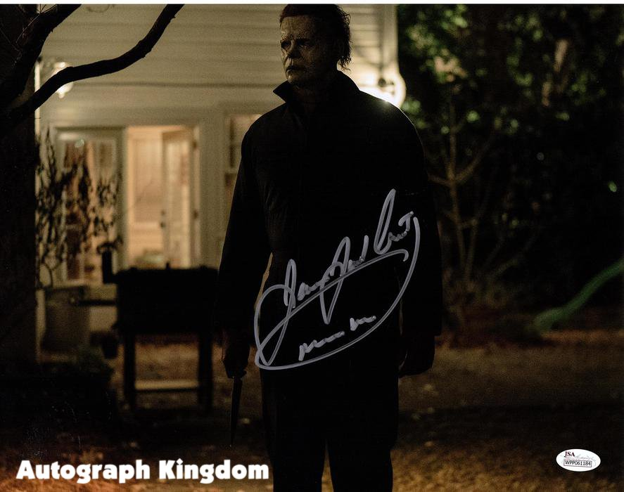 "James Jude Courtney Michael Myers Halloween 8 x 10"" Autographed Photo -(Reprint:1782)"