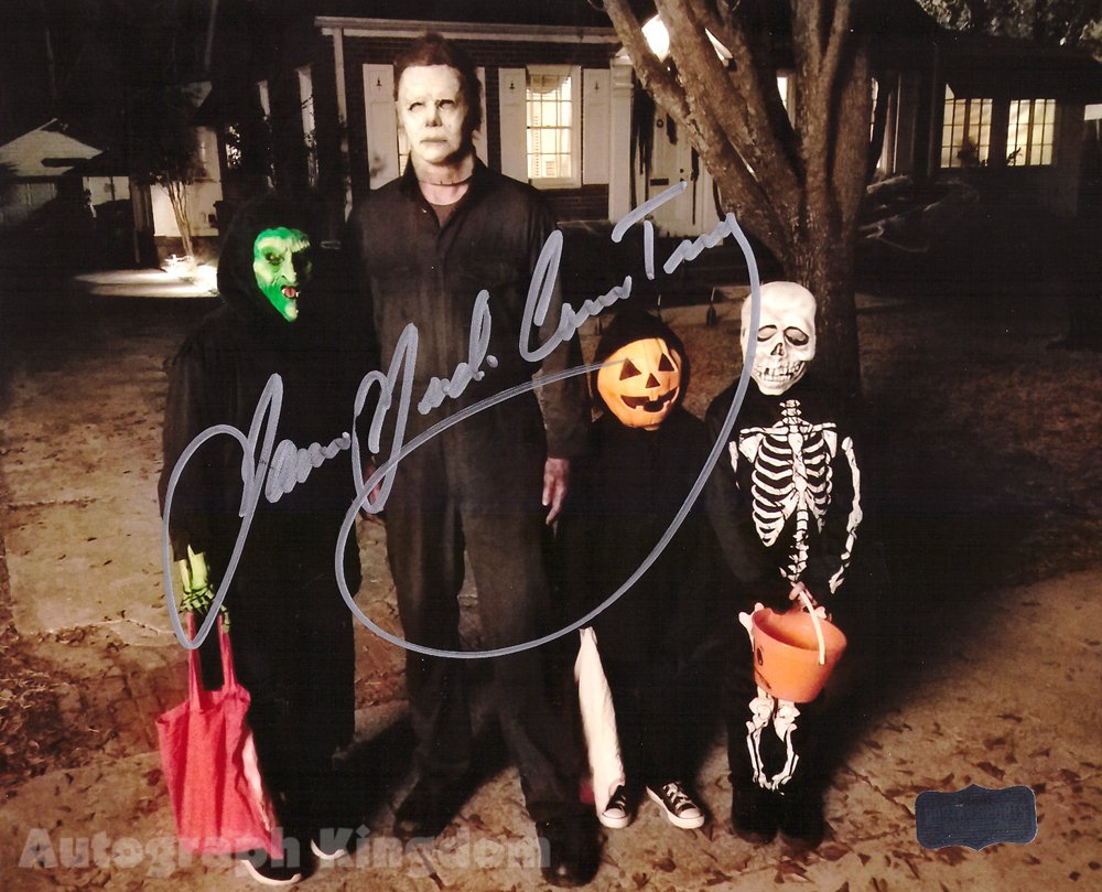 "James Jude Courtney Michael Myers Halloween 8 x 10"" Autographed Photo -(Reprint:1784)"