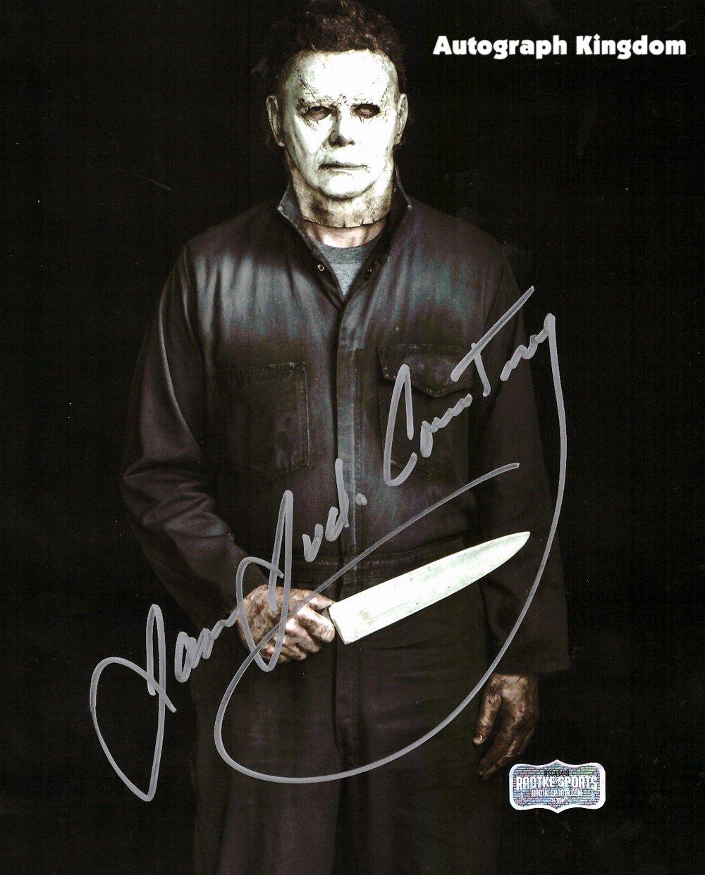"James Jude Courtney Michael Myers Halloween 8 x 10"" Autographed Photo -(Reprint:1785)"