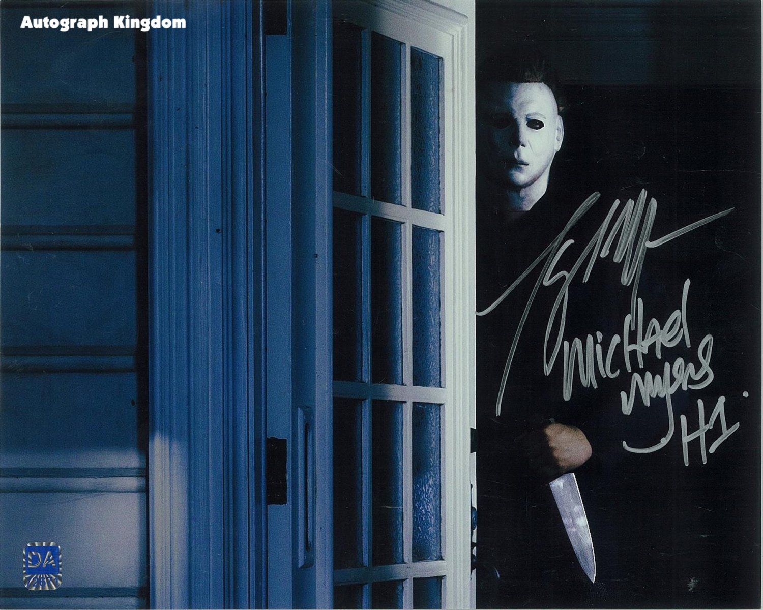 "Tony Moran Michael Myers Halloween 8 x 10"" Signed Autographed Photo (Reprint:1787)"