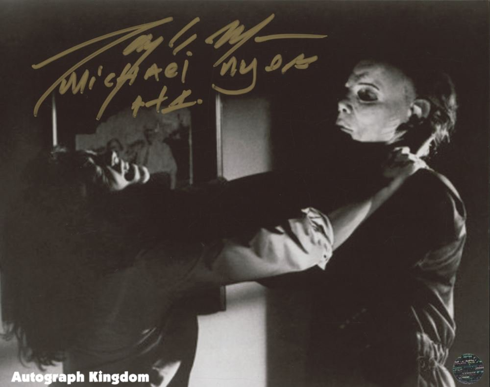 "Tony Moran Michael Myers Halloween 8 x 10"" Signed Autographed Photo (Reprint:1788)"