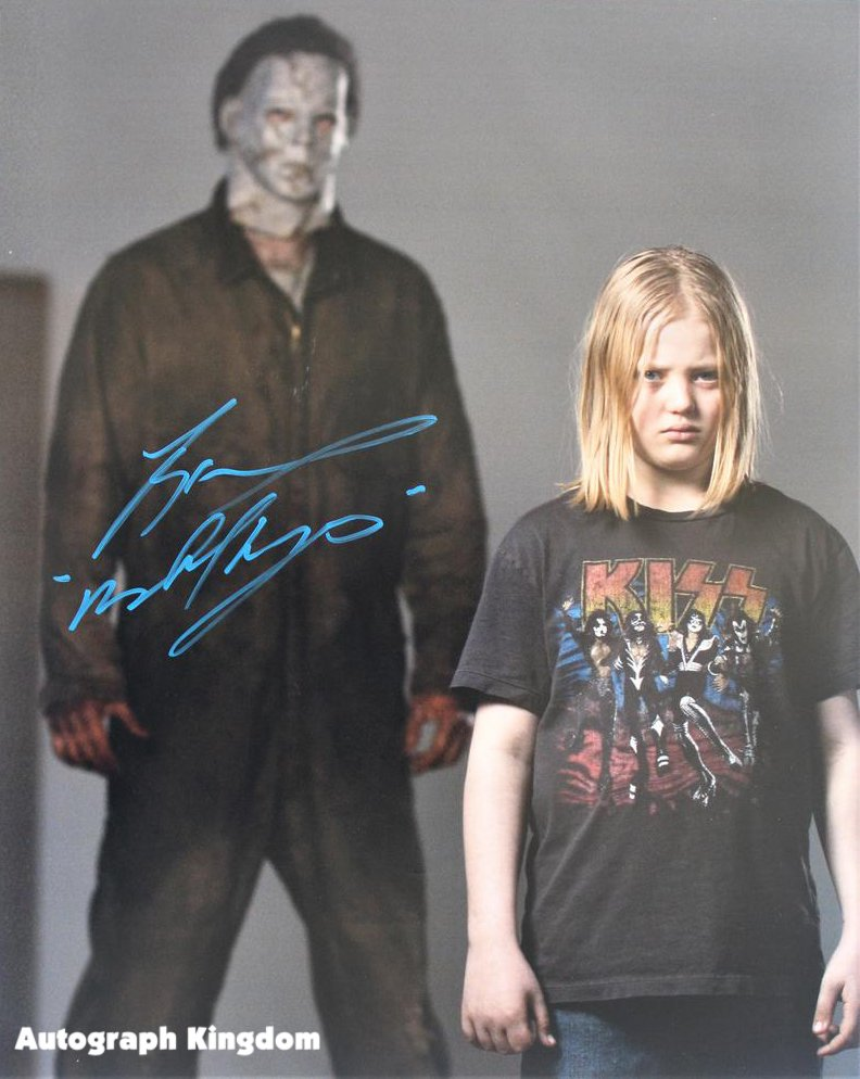 "Tony Moran Michael Myers Halloween 8 x 10"" Autographed Signed Photo (Reprint:1789)"
