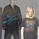 "Tony Moran Michael Myers Halloween 8 x 10"" Autographed Signed Photo (Reprint:1789)"