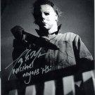 "Tony Moran / Michael Myers Halloween 8 x 10"" Autographed Signed Photo -(Reprint:1790)"