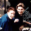"Corey Haim & Corey Feldman 8 x 10"" Autographed Signed Photo The Lost Boys  (Ref:1801)"