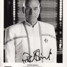 "Patrick Stewart 8 x 10"" Autographed Signed Black & White Photo Star Trek,  X Men (Reprint:1803)"