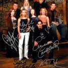 Buffy The Vampire Slayer Cast x 9 Autographed Photo (Reprint:1781) FREE SHIPPING