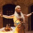 "Emilia Clarke (Game Of Thrones) 8 x 10"" Signed Autographed Photo (Reprint:769) Great Gift Idea!"