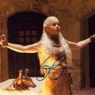 "Emilia Clarke (Game Of Thrones) 8 x 10"" Autographed Photo (Reprint:767)"