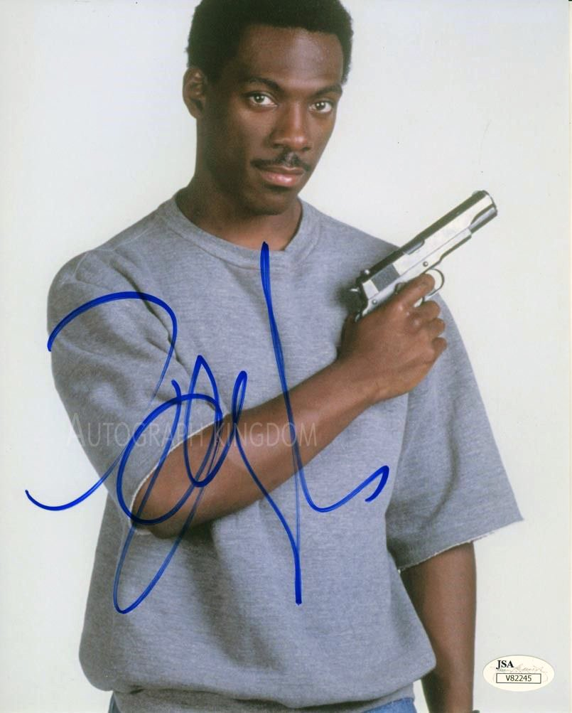 """Eddie Murphy (Beverly Hills Cops 90210) 8 x 10"""" Signed Autographed Photo (Reprint 109)"""