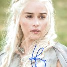 "Emilia Clarke (Game Of Thrones) 8 x 10"" Signed Autographed Photo (Reprint:768) Great Gift Idea!"
