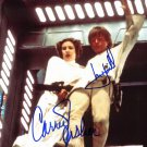 "Mark Hamill & Carrie Fisher Star Wars 8 X 10"" Autographed Photo (Reprint:760)"