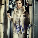 """Carrie Fisher / Star Wars 8 x 10"""" Autographed Photo (Ref:000030)"""