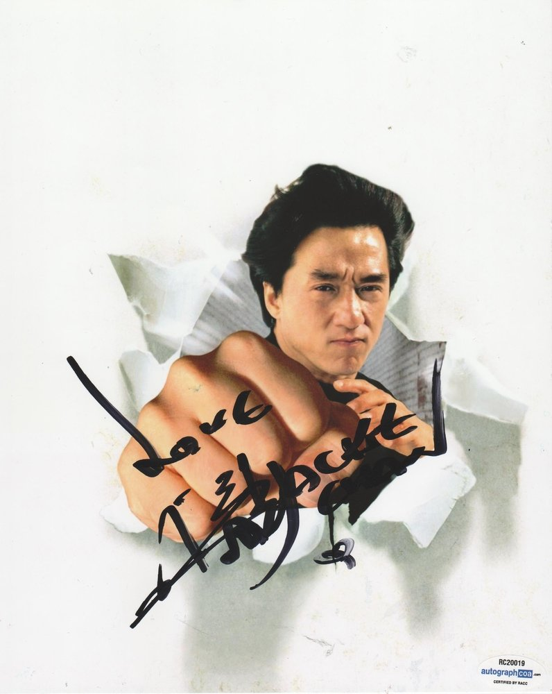 """Jackie Chan Strikes Back / The Tuxedo 8 x 10"""" Autographed Photo (Reprint:767) FREE SHIPPING"""