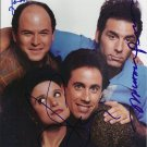 "Seinfeld Cast x 4 (Seinfeld, Alexander, Dreyfus, Richards) 8 x 10"" Autographed Photo (RP 1818)"