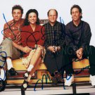 "Seinfeld Cast x 4 (Seinfeld, Alexander, Dreyfus, Richards) 8 x 10"" Autographed Photo (RP 1819)"