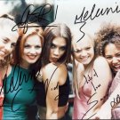"The Spice Girls 8 X 10"" Autographed Photo Emma, Mel C, Mel B, Victoria, Geri (Reprint:1820)"