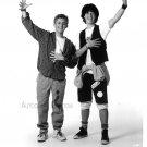 Bill & Teds Excellent Adventure (Keanu Reeves & Alex Winter) Black & White Promo Photos