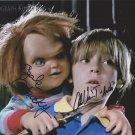 """Alex Vincent & Ed Gale (Child's Play / Chucky) 8 X 10"""" Autographed Photo (Reprint 1829)"""