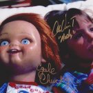 "Alex Vincent & Ed Gale (Child's Play / Chucky) 8 X 10"" Signed / Autographed Photo (Reprint 1831)"