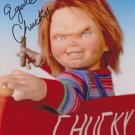 """Ed Gale (Child's Play / Chucky) 8 X 10"""" Autographed Photo (Reprint 1844) FREE SHIPPING"""