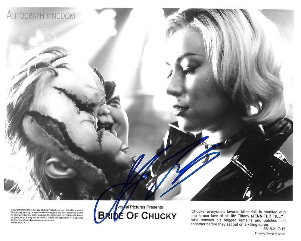 "Jennifer Tilly (Seed / Curse of Chucky) 8 X 10"" Autographed Photo (Reprint 1857)"