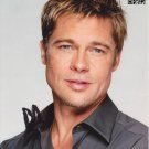 """Brad Pitt (Troy / The Mexican / Burn After Reading) 8 x 10"""" Autographed Photo (Reprint 1876)"""