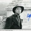 """Brad Pitt (Oceans 11, World War Z / Meet Joe Black) 8 x 10"""" Autographed Photo (Reprint 1883)"""
