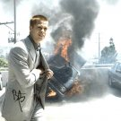"""Brad Pitt (Oceans 12 /Troy / Mr & Mrs Smith) 8 x 10"""" Signed / Autographed Photo (Reprint 1887)"""