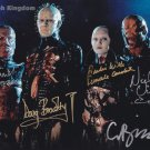"Hellraiser Cast x 4 Bradley, Wilde, Vince & Bamford 8 x 10"" Autographed Photo - (Reprint :1983)"