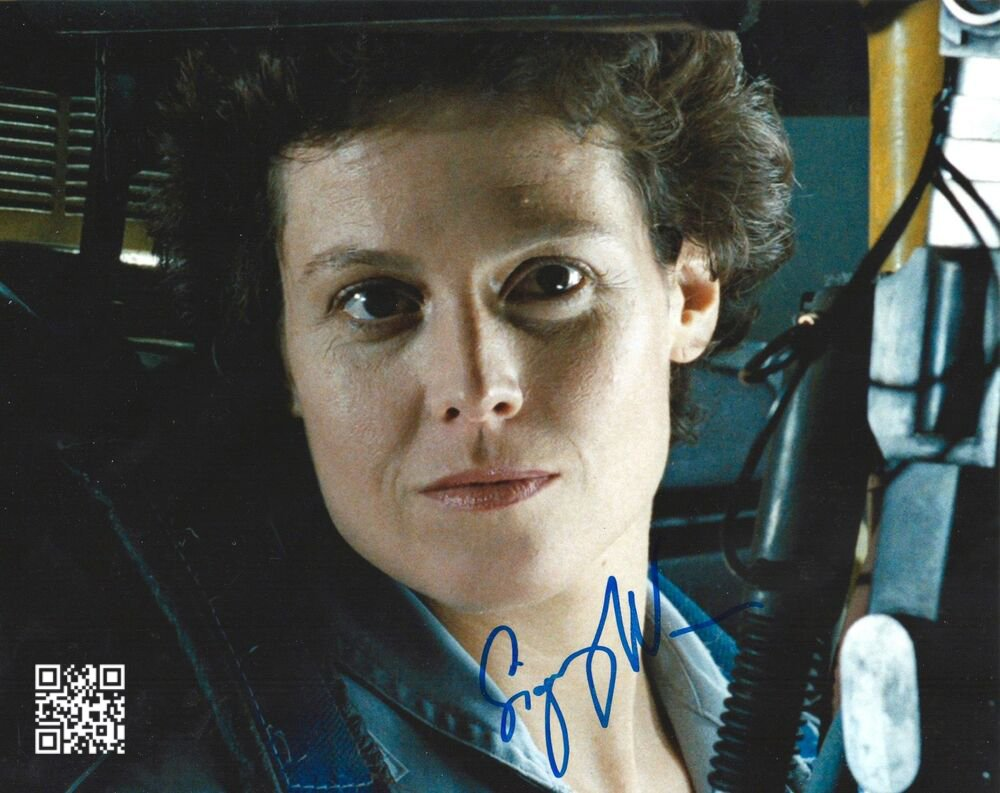 "Sigourney Weaver (Alien / Avatar / Ghost Busters)8 X 10"" Autographed Photo (Reprint: 1897)"