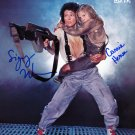 "Aliens Cast x 2 Sigourney Weaver & Carrie Henn 8 X 10"" Autographed Photo (Reprint: 1901)"