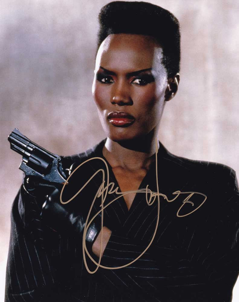 "Grace Jones 8 X 10"" Autographed / Signed Photo (Reprint: 1905) Ideal for Birthdays & X-Mas"