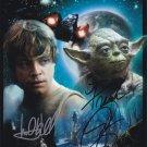 "Frank Oz & Mark Hamill - Star Wars 8 x 10"" Autographed Photo (Reprint:1488)"